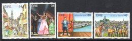 Ireland 1987 Festivals Set Of 4, MNH, SG 673/6 - 1949-... République D'Irlande