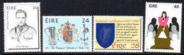 Ireland 1987 Anniversaries & Commemorations Set Of 4, MNH, SG 677/80 - 1949-... République D'Irlande