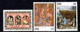 Ireland 1987 Christmas Set Of 3, MNH, SG 681/3 - 1949-... République D'Irlande