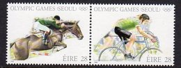 Ireland 1988 Olympic Games Set Of 2, MNH, SG 689/90 - 1949-... République D'Irlande