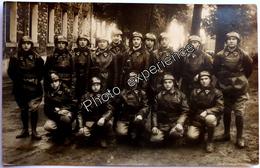 CPA Carte Photo Militaire Régiment RCC Tankiste Char Caserne ? 1930 VERSAILLES ? - Régiments