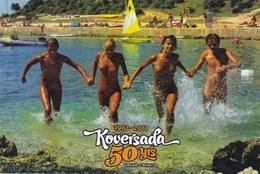 50 Years  Koversada In Vrsar, Istria  RARE POSTCARD - NUDE - Croatie