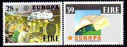 Ireland 1988 Europa Transport Set Of 2, MNH, SG 694/5 - 1949-... République D'Irlande