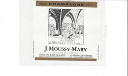 ETIQUETTE   CHAMPAGNE B D  DURBUY 93  ***   RARE A SAISIR ****** - Champagne