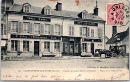 45 CHATEAUNEUF SUR LOIRE - Hotel Feuillaubois - Place De Halle Au Blé - France