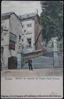 Arlon Calvaire Affiche Publicitaire Advertising Poster Oblitération à L'envers Ursuline Wimbledon - Arlon