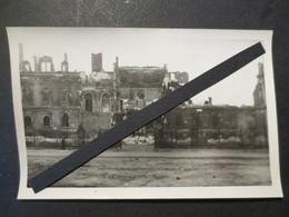 Le Havre - Carte Photo - Hôtel De Ville  Après Bombardement Du 5/9/ 44  - TBE - - Le Havre