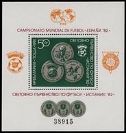 1981Bulgaria2981/B1111982 World Championship On Football Of Spanien25,00 € - Coupe Du Monde