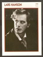 PORTRAIT DE STAR 1925 SUEDE SWEDEN - ACTEUR LARS HANSON - ACTOR CINEMA - Fotos