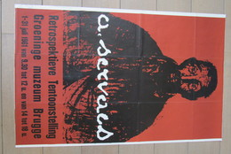 Cpa/pk Affiche Brugge 1961 Servaes Groeninge Muzeum - Affiches