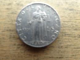 Vatican  5 Lire  1951  Km 51.1 - Vatican