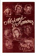 PARTITION MIMI D'AMOUR J. PLANTE / LOUIGNY - Partitions Musicales Anciennes