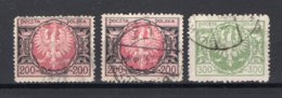POLEN Yt. 262/263° Gestempeld 1923 - 1919-1939 Republic