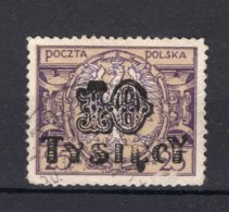 POLEN Yt. 271° Gestempeld 1923-1924 - 1919-1939 Republic