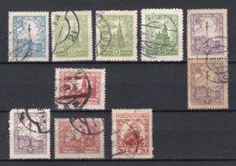 POLEN Yt. 312/316° Gestempeld 1925-1926 - 1919-1939 Republic