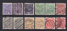 POLEN Yt. 356/361° Gestempeld 1922-1923 - 1919-1939 Republic