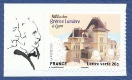 FRANCE Lyon, Villa Des Frères Lumière. Autoadhésifs Neuf**. Cinéma, Film, Movie. - Cinéma