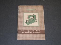 MACHINE A COUDRE ELNA - MODE D'EMPLOI - Material Und Zubehör