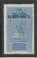 HAUTE VOLTA 1922 YT 30** - Unused Stamps