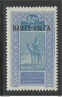 HAUTE VOLTA 1922 YT 30** - Neufs