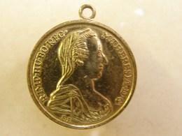 Méd. 20. Médaille De Marie Thérèse - Royaux / De Noblesse