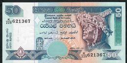 SRI LANKA P110a 50 RUPEES 1.7.2004 K/229  UNC. - Sri Lanka