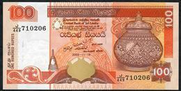 SRI LANKA P111d 100 RUPEES 19.11.2009 J/449  UNC. - Sri Lanka