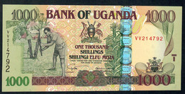 UGANDA P43a 1000 SHILLINGS 2005 #VV UNC. - Uganda