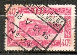 BELGIQUE  Colis Postaux 1949-52 N°318 - Chemins De Fer