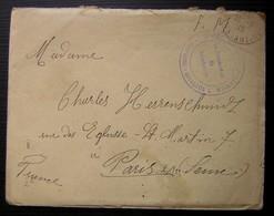 Algérie Constantine 1915 3eme Régiment De Zouaves, Bataillon L Lettre En Alsacien ? - Postmark Collection (Covers)