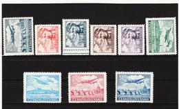 Post314 TSCHECHOSLOWAKEI CSSR 1946 MICHL 492/500 ** Postfrisch SIEHE ABBILDUNG - Tschechoslowakei/CSSR