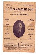 PARTITION L'ASSOMMOIR DELORMEL ET GEORGEL / RENE DE BUXEUIL - Scores & Partitions