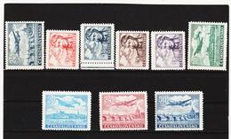 Post315 TSCHECHOSLOWAKEI CSSR 1946 MICHL 492/500 ** Postfrisch SIEHE ABBILDUNG - Tschechoslowakei/CSSR