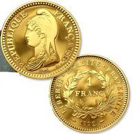 MONNAIE FRANCE 1 FRANC REPUBLIQUE COMMEMORATIVE 1992 OR PL RARE Edition Limitée - Gold