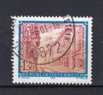 OOSTENRIJK Yt. 1908° Gestempeld 1992 - 1945-.... 2ème République