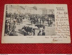 NEUFCHÂTEAU  - Le Marché Aux Bestiaux  -  1900 - Neufchâteau