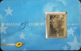 FR 2008 - Marianne De Beaujard Autoadhésif N° 193 Y & T (4242) - Timbre En Argent Sous Blister - SUPERBE - KlebeBriefmarken