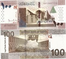 SUDAN       100 Sudanese Pounds      P-New       1.2019      UNC - Sudan