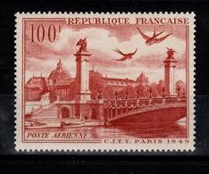 YV PA 28 N** CITT Cote 9 Euros - Poste Aérienne