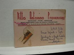 CASTELTERMINI   -- AGRIGENTO --  DITTA ANTONIO PROVENZANI - Agrigento