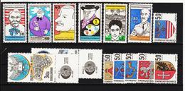 Post303 TSCHECHOSLOWAKEI CSSR 1969 MICHL 1878/83 +1888/89 +1904/09 ** Postfrisch SIEHE ABBILDUNG - Tschechoslowakei/CSSR