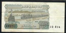 ALGERIA P132b 10 DINARS 1983 VF - Argelia
