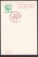 Japan Commemorative Postmark, 1984 Koala (jci3169) - Japan
