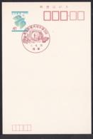 Japan Commemorative Postmark, 1989 Maejima 15sen Butterfly (jci3206) - Japan