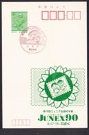 Japan Commemorative Postmark, 1990 Balloon (jci3210) - Japan