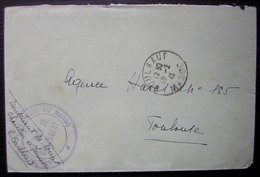 Maroc 1941 Groupement De Jeunesse Du Maroc Cachet De Boulhaut - Morocco (1891-1956)