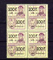 Belgique ,3 Timbres Fiscaux - Stamps