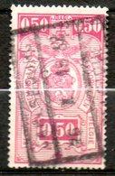BELGIQUE  Colis Postaux  50c Lias Rose 1923-31 N°141 - Chemins De Fer