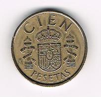 //  SPANJE 100 PESETAS 1986 JUAN CARLOS - [ 5] 1949-… : Royaume
