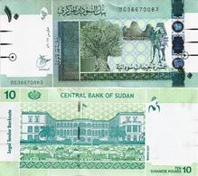 SUDAN       10 Sudanese Pounds       P-73[c]        3.2017           UNC - Sudan